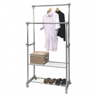 New Configuration Double Garment Rack