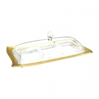 Rectangular 3 Compartment Acrylic Candy Box