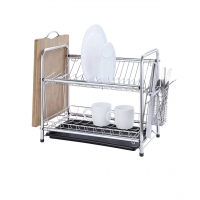 Classic 2 Tier Stainless steel Dish Drying Rack