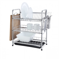 Classic 3 Tier Stainless Steel Dish Drying Rack
